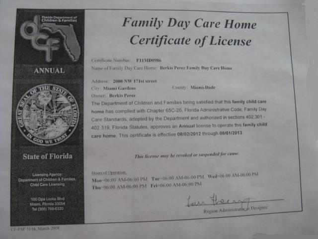 how to get a daycare license